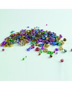 Plastic Metallic Beads