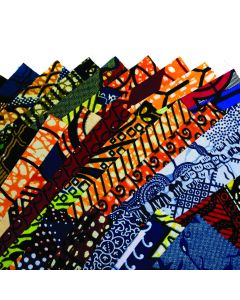 African Wax Print Fabric Pack