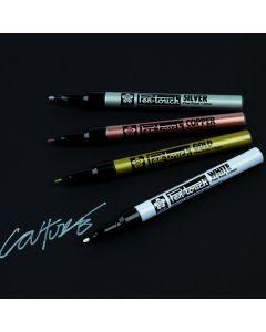 Sakura Slim Pen Touch Metallic Markers