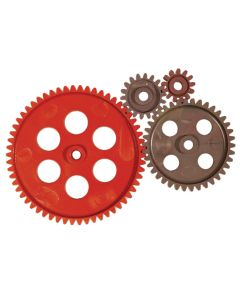 PVC Gears 4mm Bore. Pack of 10