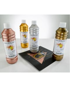 Premium Readymixed 500ml Liquid Metal Paint