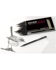 Spectrum Artist Slim Graphite Sticks