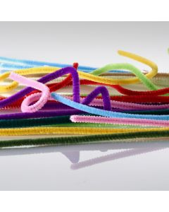 Pack of 100 pipe cleaners. Chenille Assortment