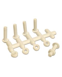 Plastic Rivets. Pack of 5