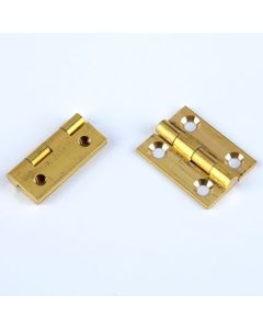 Brass Butt Hinges. Pack of 10 pairs