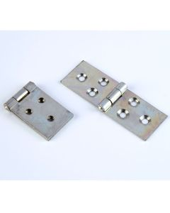 Steel Backflap Hinges - 25mm. Pack of 10 pairs