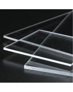 Clear Perspex Extruded Acrylic Sheets - 600 x 400mm