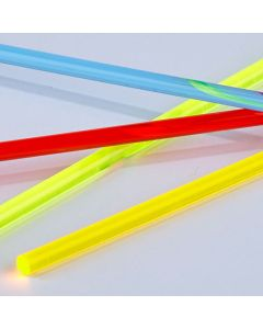 Light Gathering Extruded Acrylic Rods