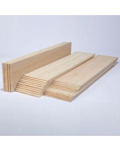 Balsa Wood Class Packs - 100mm Thin Sheets