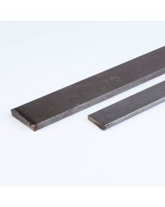 Mild Steel Bright - Flat - 1m Lengths