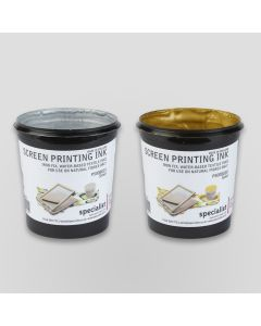 Specialist Crafts Water-Based Textile Inks - Metallics