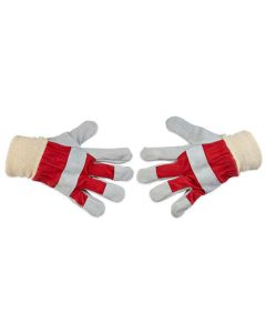 Chrome Leather Gloves. Per pair